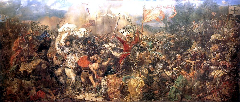 Caucasians Around The Ancient World   Battle-of-Grunwald2